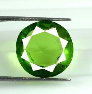 Loose Gemstone 9.15 Ct/14 mm Pakistan Peridot Round Natural AGI Certified S8138