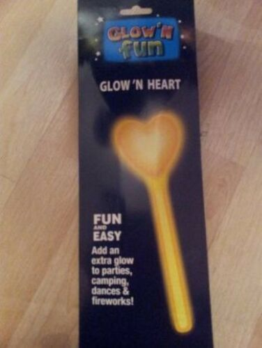 Glow Stick Heart or Star Design 28cm
