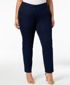 Charter-Club-Cambridge-Slim-Leg-Plus-Size-Jeans-NWT