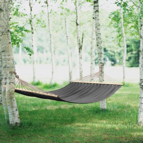 ® XXL más personas hamaca 200kg gris suspensiva camping exterior casa. pro