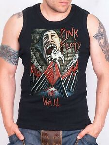 686d3d2a771bb2 PINK FLOYD THE WALL Tank Top Men Athletic Vest Rock Band Shirt