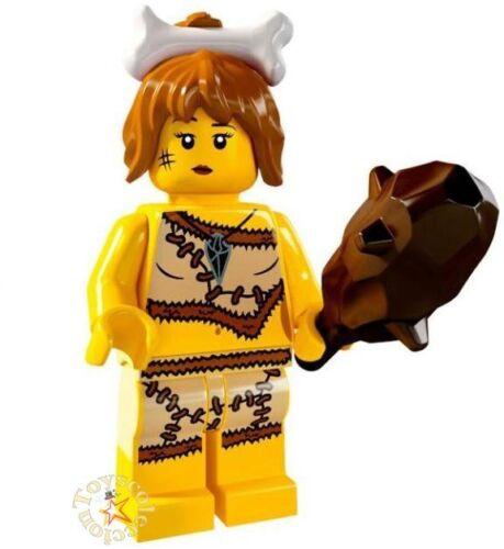 LEGO MINIFIGURES SERIE 5 - MINIFIGURA CAVE WOMAN 8805 - ORIGINAL MINIFIGURE