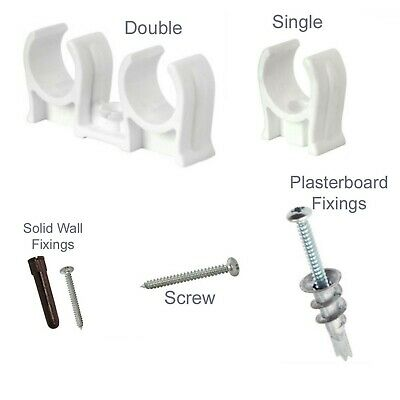 NEW Talon Snap-in Open Clip 22mm Single Plumbing pipe 100 Pack