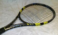 Babolat AeroPro Drive+ 100 head 10.6 oz 4 1/2 Grip Tennis Racquet To Be Restrung