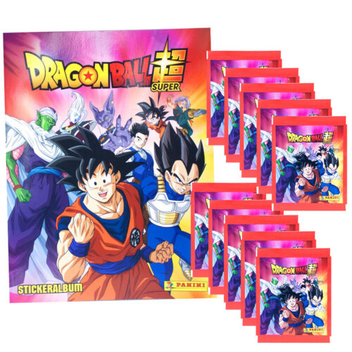 Dragon Ball-Super 2020-sammelsticker Display pochettes album