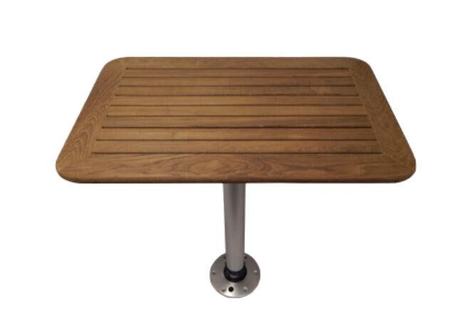Teak Tisch kpl. versch. Größen Klapptisch Stiefeltisch Stiefel Tisch