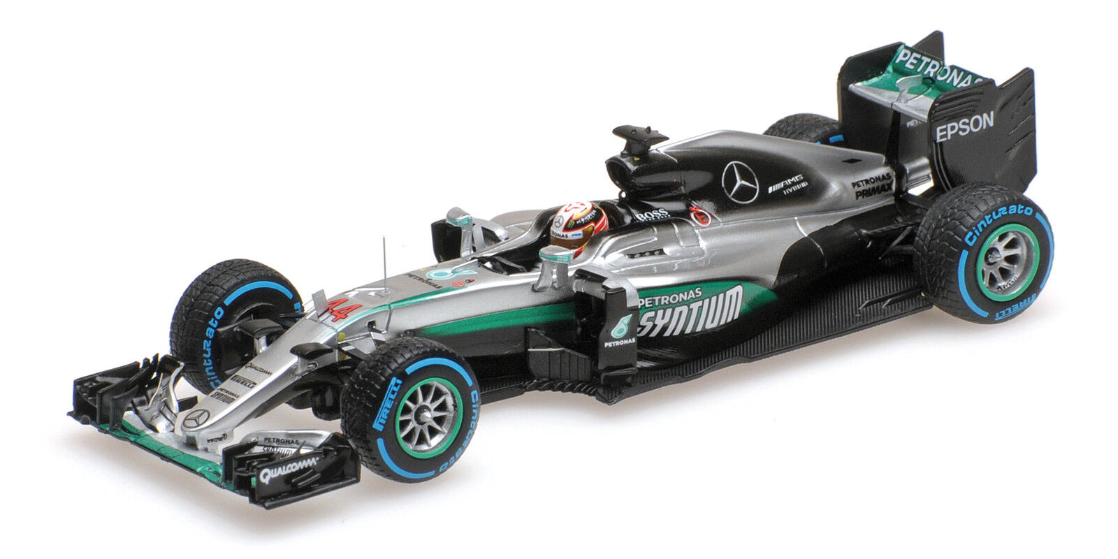 MERCEDES AMG w07 ibrido LEWIS HAMILTON WINNER BRAZILIAN GP 2016 1 43 Model