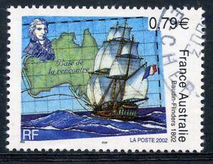 Stamp / Timbre France Oblitere N° 3477 Portrait De Flinders