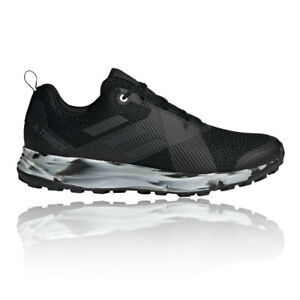 Détails sur Adidas Terrex pour homme deux Trail Chaussures De Course Baskets Sneakers Noir Sport afficher le titre d'origine