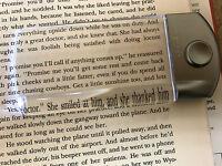 Lightwedge Pocket Mini 1.5x Pocket Lighted Hand Magnifier - Silver, Low Vision