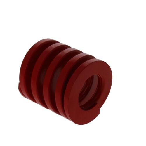 30mm OD Medium Press Load Mold Die Spring Stamping Compression Red 30-200mm Long
