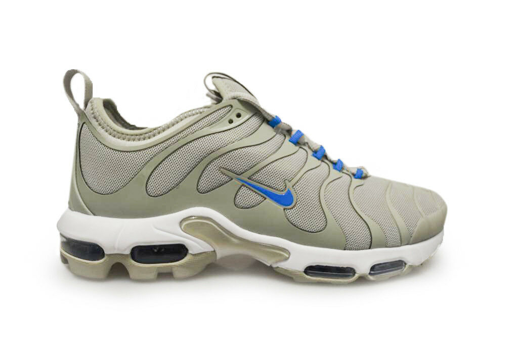Mens Nike Tuned 1 Air Max Plus TN Ultra - 898015 100 - Grey Blue White Trainers best-selling model of the brand