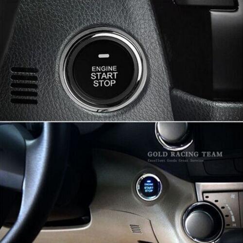 Car Engine Button Push Start Lock Ignition Starter Alarm Systems Keyless Entry