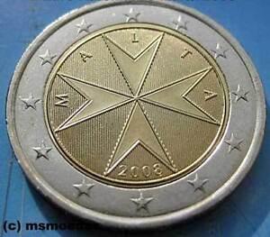 Details Zu Malta 2 Euro Münze Euromünze Kursmünze Standard Coin Moedas Jahr Nach Wahl