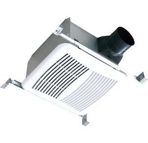 Bathroom Fan Shower Fan Super Quite Exhaust fan 90CFM With ...