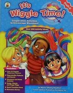 NEW-It-039-s-Wiggle-Time-Grades-PreK-K-Cooperative-Activities-to-E-9781594410413