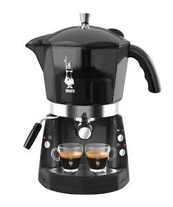 Macchina da caffè Bialetti Mokona Nero trasparente 20 bar trivalente CF40 Rotex