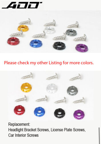 ADD W1 Dress Washers Fender Washers tapping screw BLUE Color 12pcs