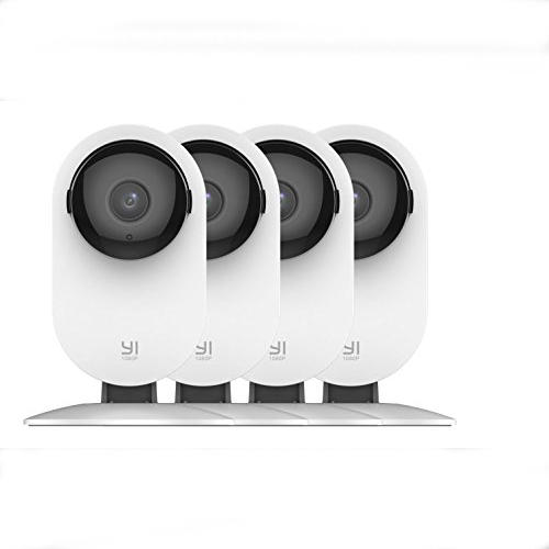 YI 4pc 1080p Home Wireless IP Security Camera System w/ Night Vision
