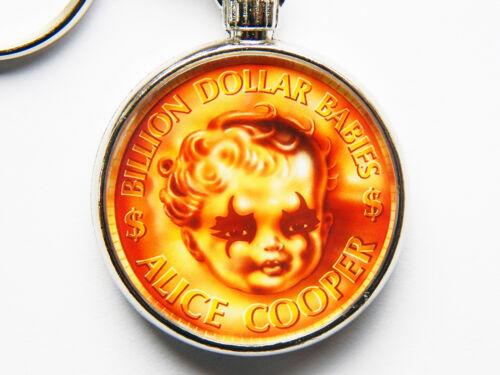 Alice Cooper Billion Dollar Babies Rockband Chrom Schlüsselring Bild