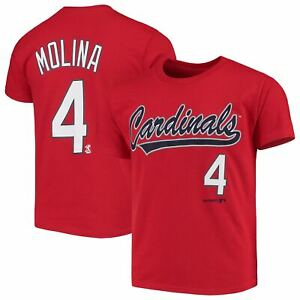 Youth-Yadier-Molina-Red-St-Louis-Cardinals-Name-amp-Number-T-Shirt