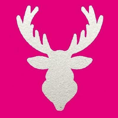 """1.5/"""" Reindeer Head Trophy Punch Lever Style Paper Crafts Card Making 34 x 28mm"""
