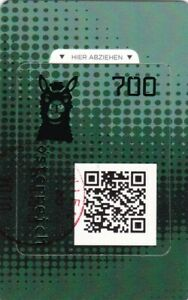 Osterreich-2020-Ersttag-Crypto-Stamp-Lama-Digitale-Farbe-gruen