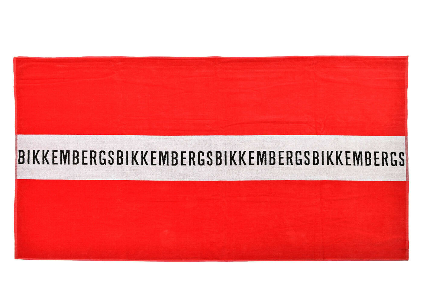 BIKKEMBERGS Unisex Beach Towel Bath Logo Approx. 39 3/8x66 7/8in Selection Of