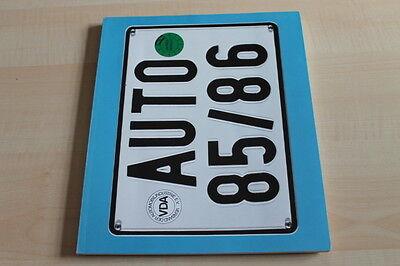 Magazin 1985 Vda Auto GüNstiger Verkauf 125643