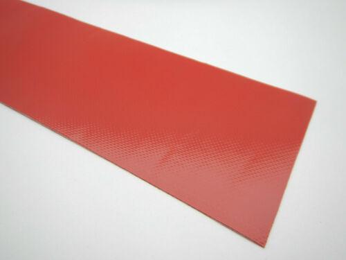 PLANE REPARATUR BAND ZELT MARKISE ZELTPLANE SITZE ROLLER 50cmx10cm 3002 ROT