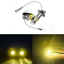 2x-H3-LED-Fog-Light-Bulbs-Replace-Lamp-3000k-Yellow-10W-High-Power-Warranty thumbnail 1