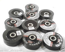 """LOT OF 50-4 1/2"""" GRINDING WHEEL/DISC  7/8"""" ARBOR  1/4"""" THICK"""