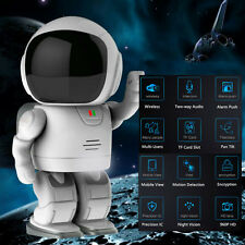 Clock Robot Wireless IP Security Camera WiFi CCTV Camera for Baby Monitor