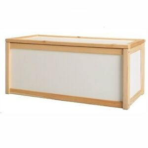 NEW-WOODEN-TOY-STORAGE-UNIT-BOX-CHILDRENS-KIDS-TOYS-CHEST-BOXES-WHITE-CHEAP
