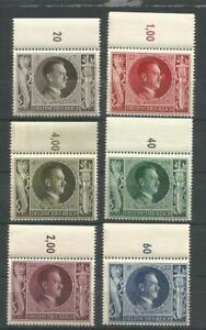 German Third Reich Stamps - . Adolf Hitler Set  ----  Mnh..