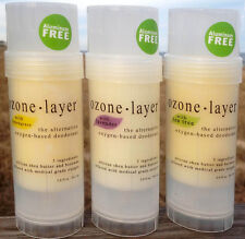 Ozone Layer Deodorant - All Natural and Guaranteed (ESSENTIAL OILS 3-PACK)