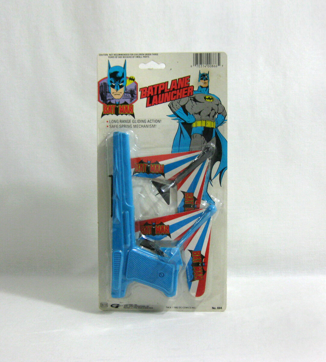 NEW 1989 Batman ✧ BATPLANE LAUNCHER ✧ Vintage DC Comics MOC