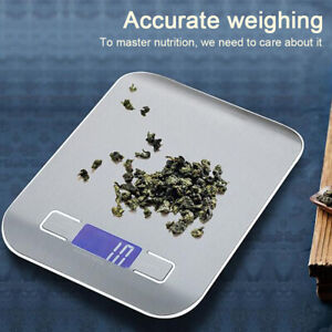 10Kg Kitchen Weight Electronic Scale Stainless Steel Food Balance Measuring Tool