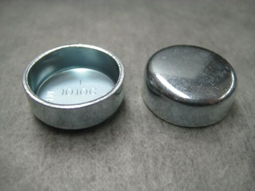 """Steel Freeze Plug Pack of 2 1/"""" 1.00 in Made in USA 25.6mm Ships Fast!"""