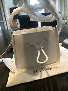 100-Authentic-Brand-New-Phillip-Lim-3-1-Mini-Soleil-Bucket-Bag-color-White-Wtag
