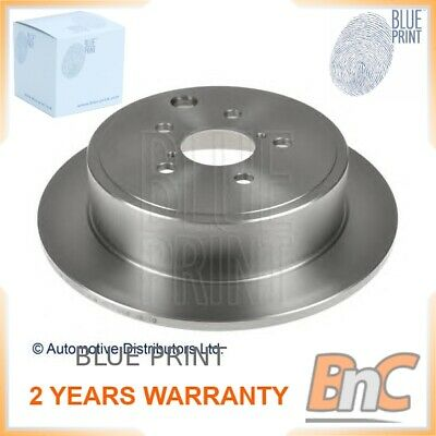 Rear Borg /& Beck BBD4400 Brake Disc Pair