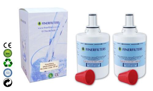 2 x Finerfilters Da29-00003g Filtro Frigorifero Compatibile per Samsung