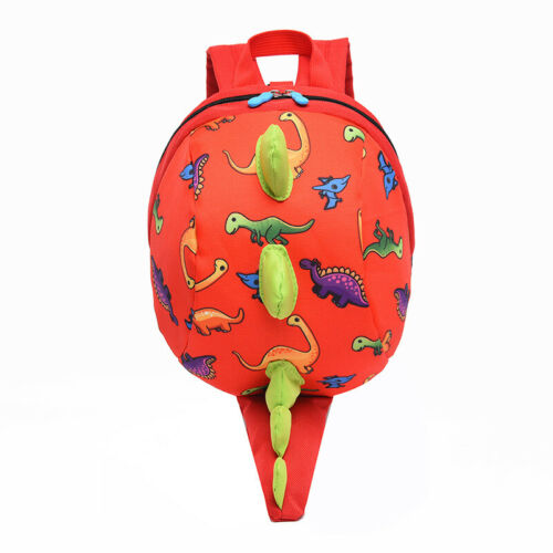 Toddler Kids Boys Girls Dinosaur Safety Harness Backpack Small Lunch School Bag