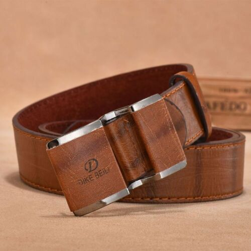 Accessories Smooth Buckle Leather Men Belt Belt Men/'s Belt Men/'s Accessories