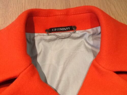 Cp Wool Women's cashmere Orange £675 40 Size Jacket Company Mix Rrp Gorgeous Adwq4B77