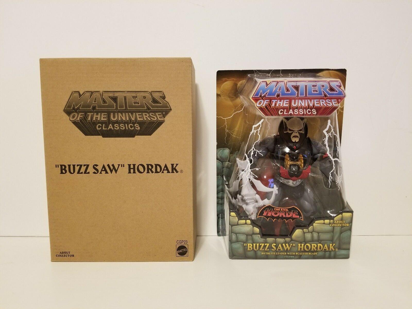 Motu Classics Buzz Saw Hordak Masters Of The Universe Matty Collector Mattel