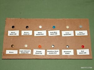 Leviton-5-16-034-Wall-Plate-Screws-20pcs-Rare-Colors-Available-See-Variety