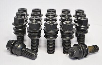5 x Car wheel bolts Mercedes M14 x 1.5 Radius Seat 27mm Thread Length