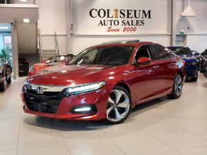2018 Honda Accord TOURING-ONLY 17KM-NAVI-SUNROOF-LEATHER-CARPLAY
