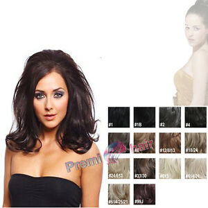 Half-head-Wig-Hair-Fall-curly-reversible-hair-piece-extensions-Caramel-brown